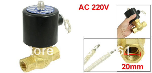 Free Shipping DC12V 3/4 2Position 2 Way NC Hi-Temp Brass Steam Solenoid Valve PTFE Pilot DC24V,AC110V or AC220V 5 way pilot solenoid valve sy3220 4g 02