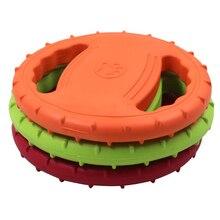 Pet Dog EVA Летающая интерактивная обучающая игрушка портативная на открытом воздухе большие игрушки для собак товары для домашних животных