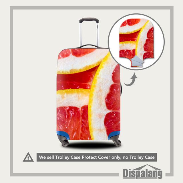 Dispalang elastic estiramento bagagem cobre padrão fruto mala capa protetora para 18-30 polegada caso acessórios de viagem do trole