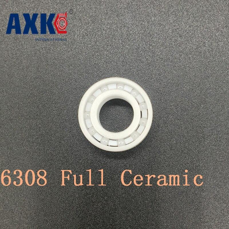 Axk 6308 Full Ceramic Bearing ( 1 Pc ) 40*90*23 Mm Zro2 Material 6308ce All Zirconia Ceramic Ball Bearings 6308 full ceramic bearing 1 pc 40 90 23 mm zro2 material 6308ce all zirconia ceramic ball bearings