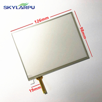 skylarpu 5.7 inch 126mm*98mm (Weld) Touchscreen for 127mm*99mm Touch Screen Panel Digitizer Glass Replacement Part
