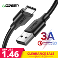 Ugreen 3A USB C Cable for Huawei Mate 20 Pro USB Type C Fast Charging Data Cable for Xiaomi Mi 8 Oneplus 6 5T USB C Charger Cord