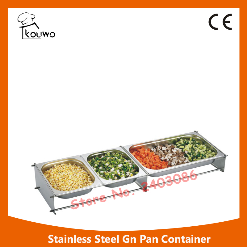 201 stainless steel GN pan/food container/ice cream pan  for hot selling fast food leisure fast food equipment stainless steel gas fryer 3l spanish churro maker machine