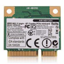 Беспроводной адаптер для AR5B225 AR9485 Half Mini PCI-e карта ноутбука WiFi 300 Мбит/с AR3012 Bluetooth 4,0 для dell asus acer