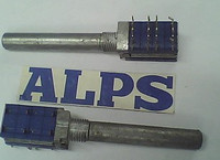 2PCS LOT ALPS Alps Rotating Band Switch 4 6 Axis Long 35MM
