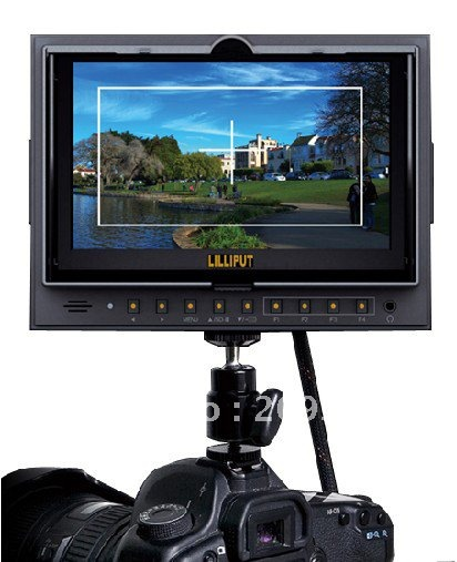 LILLIPUT 5D2/O 7 inch TFT Video Camera Monitor LED Field Monitor for Canon 5D-II with HDMI input and output
