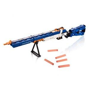 Image 3 - リボルバーピストル銃 swat 軍 WW2 武器 98 18k デザートイーグル短機関モデルビルディング · ブロック工事用