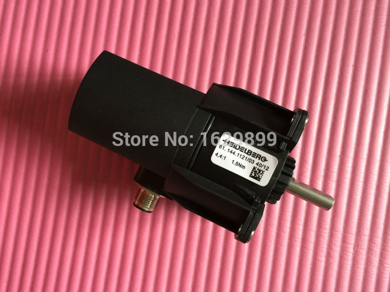 2 pieces free shipping 61.144.1121/03 motor 61.144.1121 for heidelberg offset printing machine 2 pieces r2 144 1121 heidelberg machine gear motor compatible new