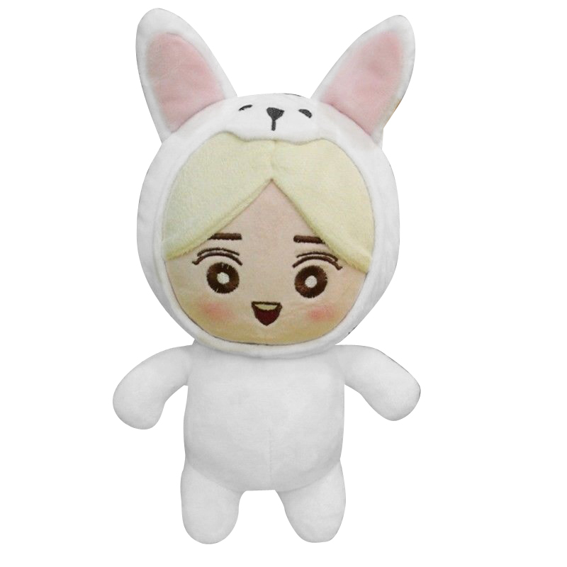 Kpop EXO xoxo Planet#2 Plush Toy Chen Kai DO Suho Chanyeol Sehun BaekHyun Stuffed Dolls Collection [tool] 2017 new kpop group exo light stick ver 3 0 sehun chanyeol do glow light stick lamp black white color