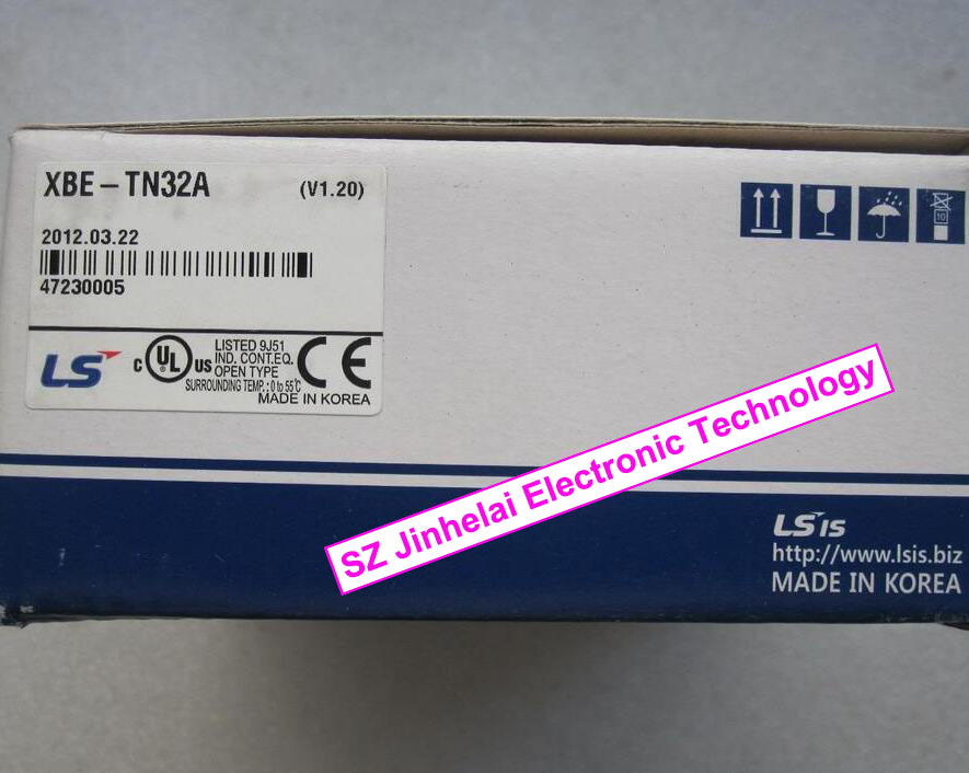 100% New and original XBE-TN32A LS(LG) PLC 32 point transistor(NPN) output 1000pcs s9014c to 92 s9014 npn transistor