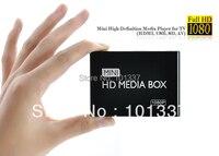Multimedia Mini Full HDD Media Player 1080P HD Tv Box Support HDMI MKV RM SD USB
