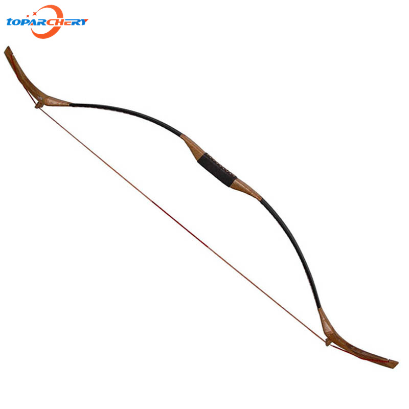 Traditional Chinese Recurve Bow Wooden Bow 45lbs 50lbs for Bamboo Wooden Arrows Hunting Shooting Target Practice Games Longbow 1 piece hotsale black snakeskin wooden recurve bow 45lbs archery hunting bow