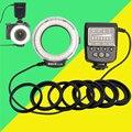 Для Canon 6d 60d 5d mark iii 550d 1100d Nikon d7100 Pentax Olympus Panasonic Камеры Macro Ring Flash Light FC100 FC-100 Meike