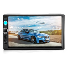 automobile refitting 7 inch Touch Screen  2Din Vehicle mounted multifunctional MP5 player Bluetooth MP3 MP4 Players Radio Tuner