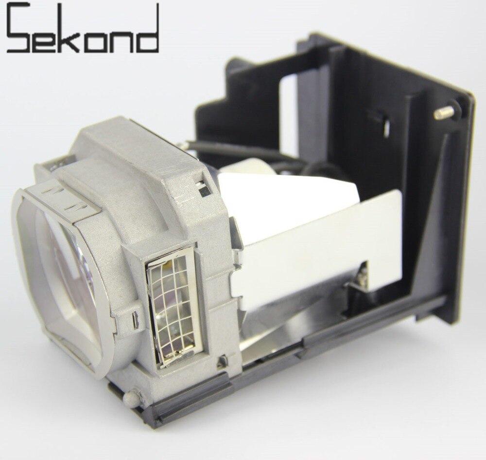 SEKOND Replacement Lamp W/Housing VLT-XL650LP For Mitsubishi HL650U MH2850U WL639 XL2550 XL650LP WL2650 XL2550U WL2650U