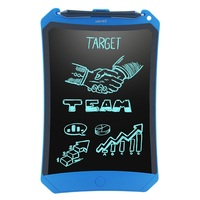 NEWYES 8.5 Chrismas Kids Gifts Paperless Portable Blue Robot Pad eWriter Electronic Toys Doodle Pad LCD Writing Tablets