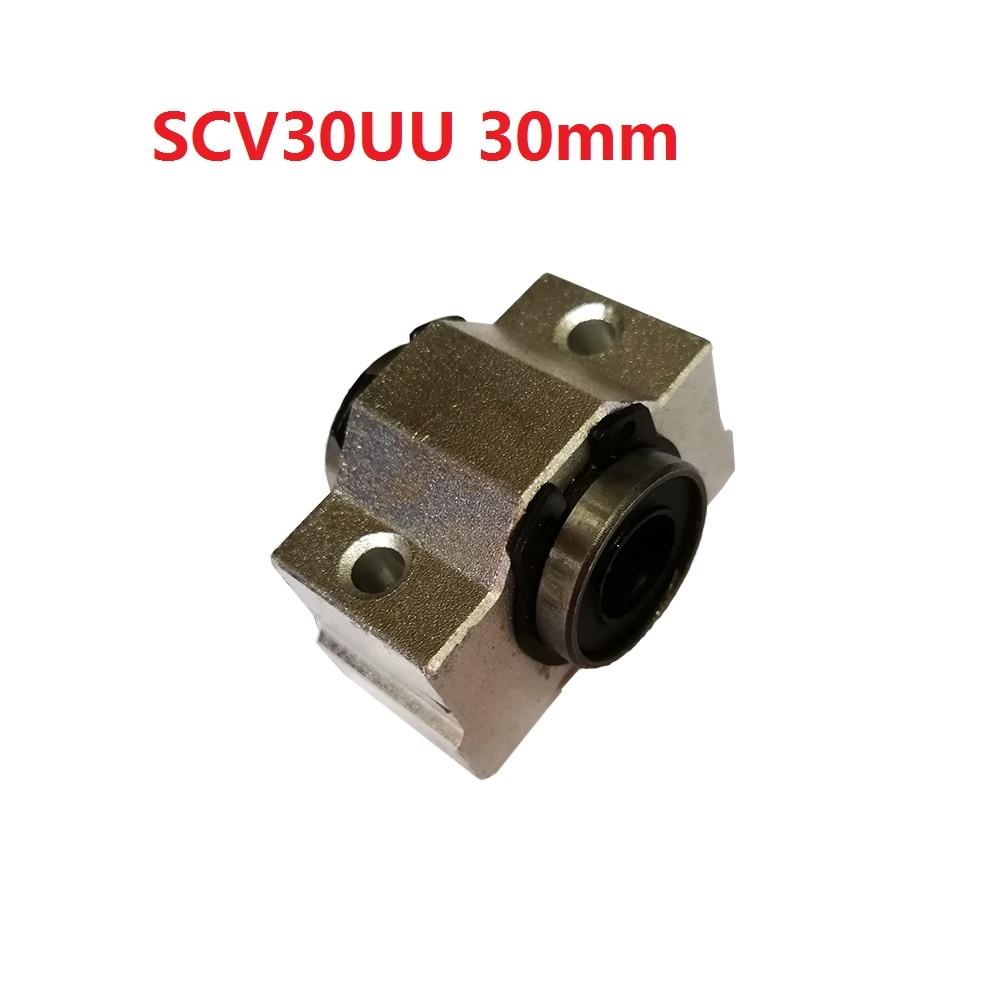 1PCS SCV30 ( SCV30UU SC30VUU) Linear Ball Bearing Pellow Block Linear for CNC anon маска сноубордическая anon somerset pellow gold chrome