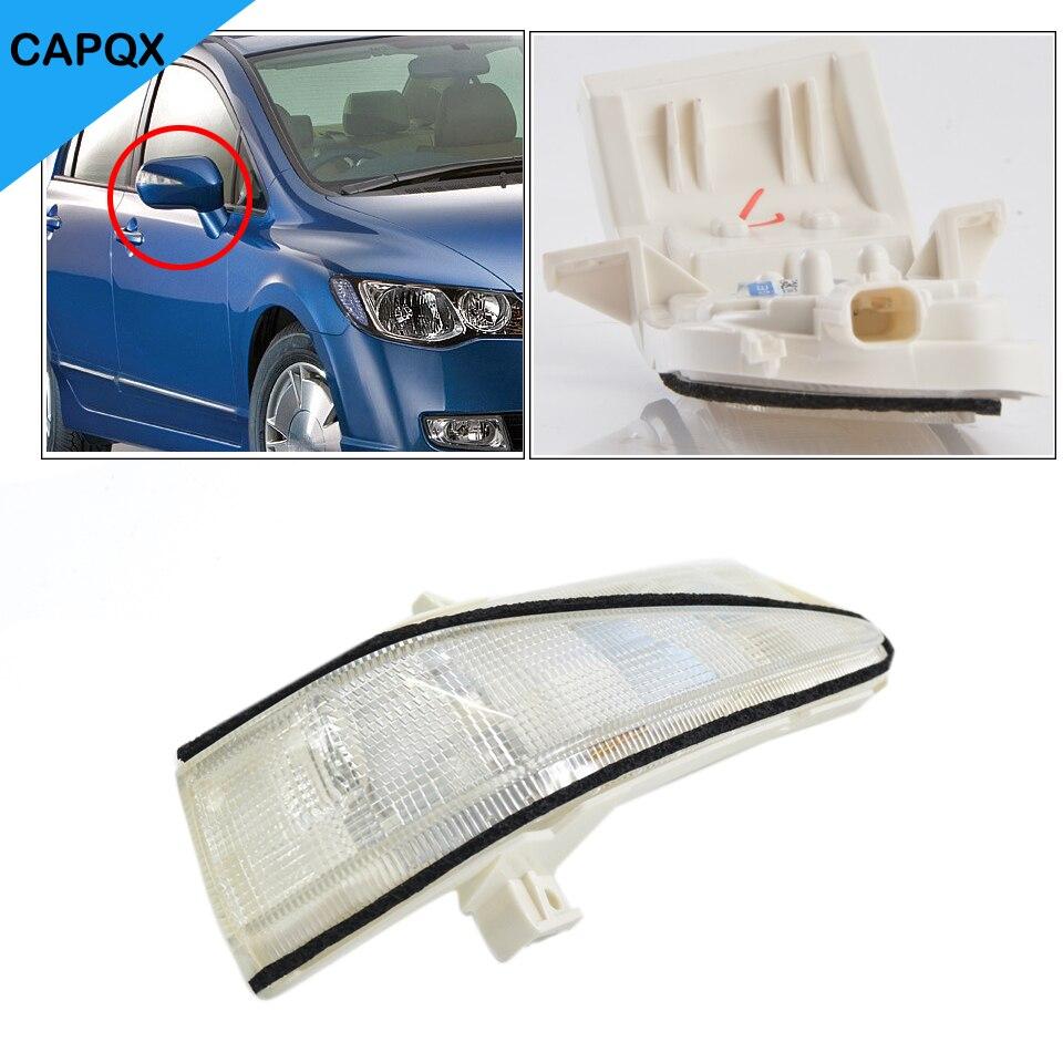 Left Side Rearview Mirror LED Turn Signal Flasher Light For Honda Civic2006-2011