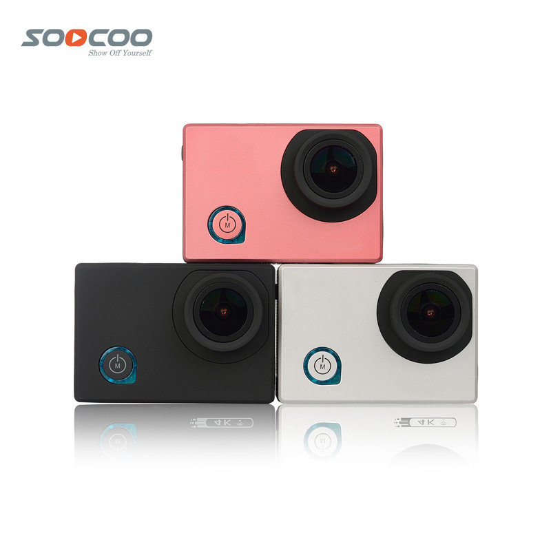 NEW Original SOOCOO C50 Wifi 4K Sports Action Camera Gyro Adjustable Viewing Angles NTK96660 30M Waterproof 2.0 Screen Sport DV soocoo c30 sports action camera wifi 4k gyro 2 0 lcd ntk96660 30m waterproof adjustable viewing angles