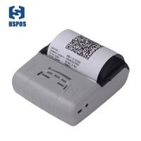 Portable 80mm thermal android pos pocket printer HS E30UA usb port impressora termica bill printing machine provide free SDK