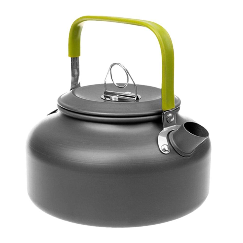 Outdoor Water Kettle Teapot Camping Tableware Picnic Kettle 0.8L/1.1L/1.2L/1.6L Teapot Coffee Pot Aluminum Hiking Water Kettle
