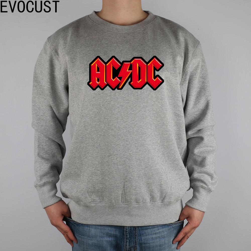 745236f7971f ACDC ROCK N ROLL AC DC red lightning men Sweatshirts Thick Combed Cotton-in  Hoodies & Sweatshirts from Men's Clothing on Aliexpress.com | Alibaba Group
