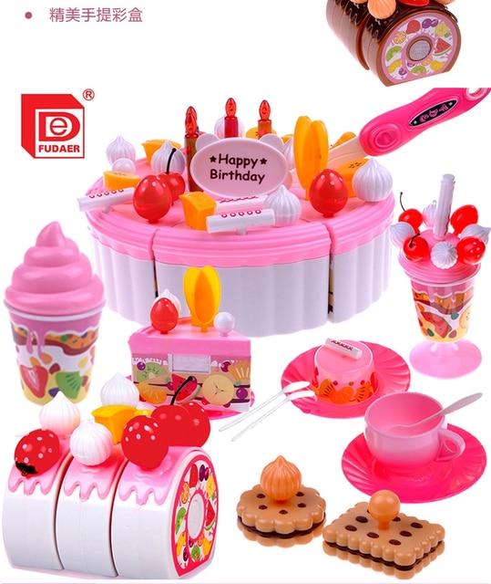 Kids Kitchen Play Set Toys 73pcs/Set Pretend Play Girs Kitchen ...