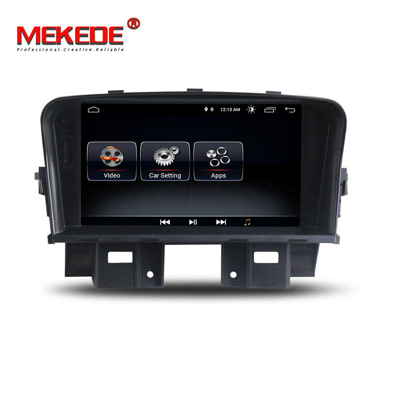 New 7 Android 8 1 Car GPS Navigation for Chevrolet Cruze 2008 2009 2010 2011 dvd