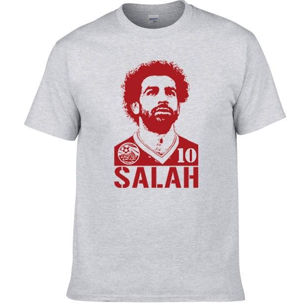 wholesale dealer 00f5a e2142 US $20.0 |2018 Summer short sleeve T shirt Mohamed Salah Egypt soccer team  World cup Player jersey Tees men t shirt-in T-Shirts from Men's Clothing on  ...
