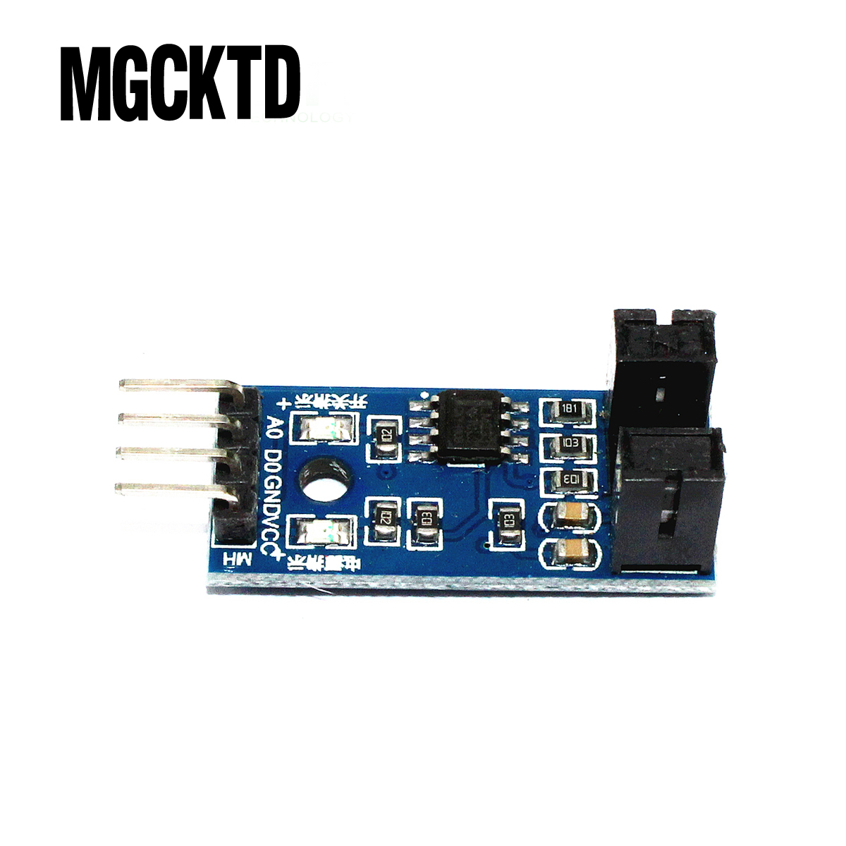 M2-01 10PCS Speed Measuring Sensor Counter Motor Test Module Groove Type Optical Coupling Module