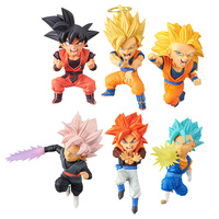 Dragon Ball Super Z WCF World Collectable Figure SAIYANS BRAVERY Vol.01 Full Set 100% Original