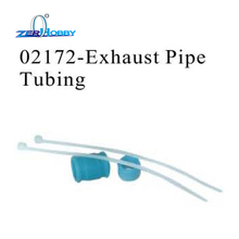 RC CAR SPARE PARTS EXHAUST PIPE TUBING FOR HSP 1/10 NITRO ON ROAD RACING CAR 94177 (part no. 02172)