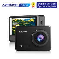 """AZDOME M08 1080P Super condensateur Dash Cam 2.45 """"caméra de voiture IPS avec WiFi WDR Sony capteur enregistreur dvr de voiture Vision nocturne Dashcam"""
