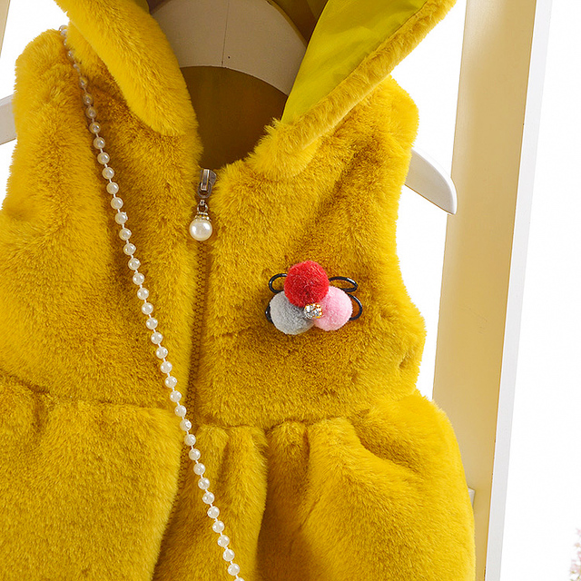 Girl's (Baby & Toddlers) Coat / Waistcoat imitation Fur