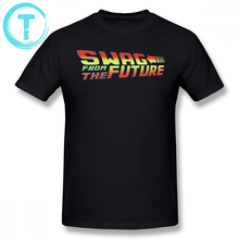 Back To The Future T Shirt Swag From T-Shirt Cotton Fun Tee Graphic Male Short Sleeves Plus size Casual Tshirt