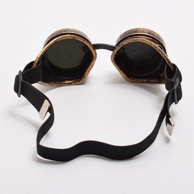 Винтажные стимпанк очки с шестерёнками 5