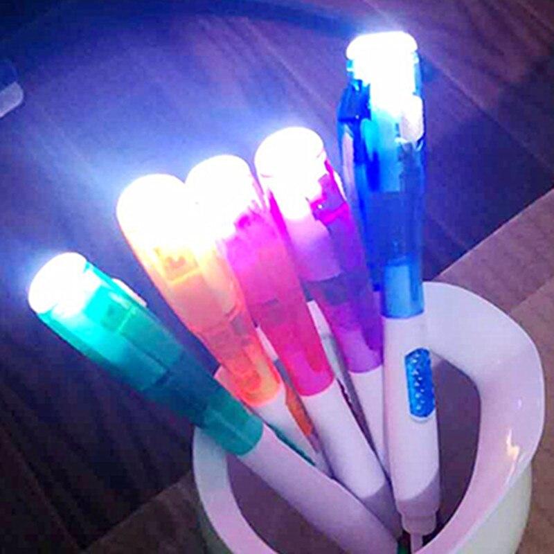 Многофункциональный Шариковая ручка с светодиодный фонарик офиса школа ...