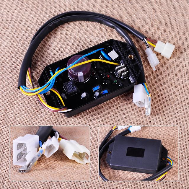 AVR Regulador De Voltaje de alta calidad Aptos para Yanmar Kama Kipor 5KW Monofásico Generador Diesel