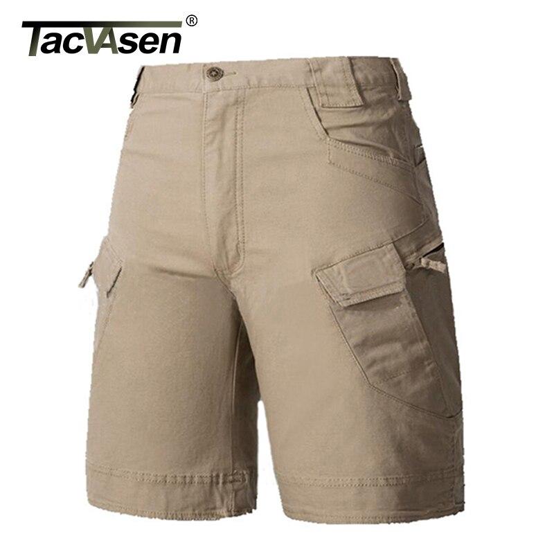 TACVASEN New Summer Men Tactical Shorts Men's Combat Shorts Military Camp Army Cargo Shorts 3 colors Short Pants TD-YCXL-010