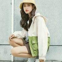 Autumn Jacket Women Harajuku Zipper Pockets Clothes Bomber Jacket Winter Coat Womens Jackets Streetwear Big Size