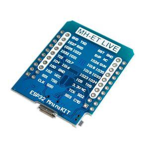 Image 2 - 10 개/몫 라이브 D1 미니 ESP32 ESP 32 WiFi + 블루투스 인터넷 사물 개발 보드 기반 ESP8266 완전 기능