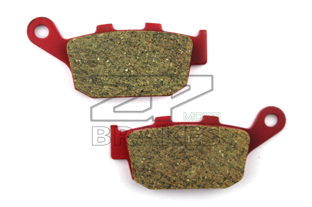Motorcycle part Brake Pads Fit HONDA NT 650 J/K/L Bros 1988-1992 650 NT Deauville 1998-2001 Rear Ceramic Composite Free shipping