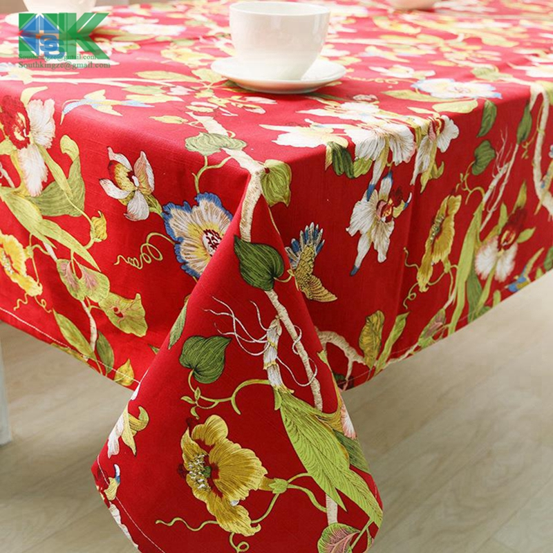 2016 New New Factory Direct Cotton Double Double Dimensional Printing  Tablecloths Table Linen Tablecloth Restaurant