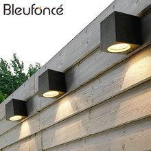 3W/6W LED Aluminum Wall Lamp Porch Light Wall Sconce Square Outdoor Waterproof Wall Light Garden Lights Modern wall lights BL22