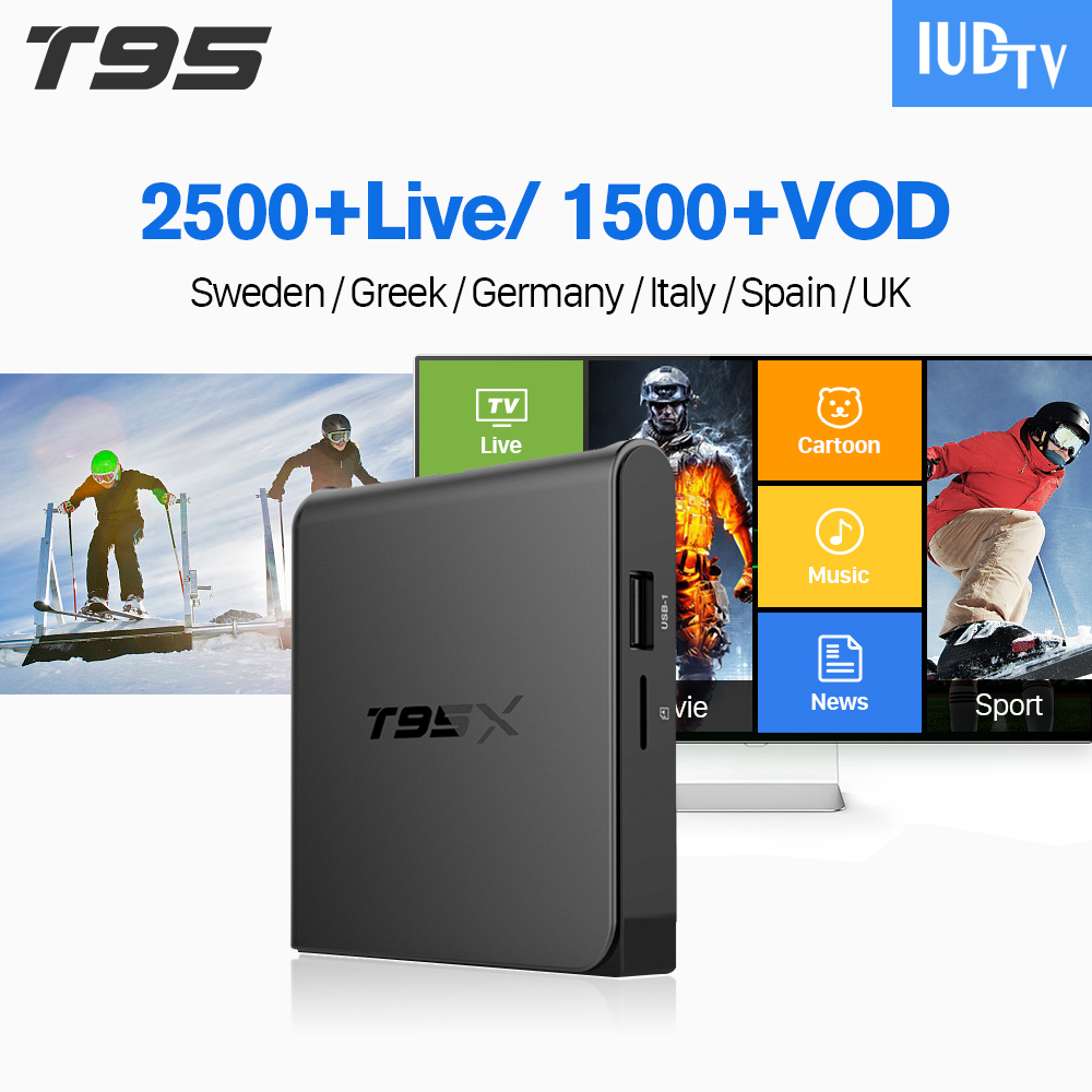 IPTV Subscription Box Code IPTV 1 Year T95X Android TV Set Top Box Spain UK Germany Turkish Italy Greek Nordic Android Box IP TV nescafe gold barista кофе сублимированный 150 г