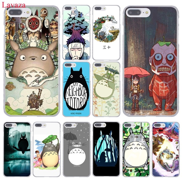 huge discount e0930 7722a US $2.55 |Lavaza cartoon My Neighbor Totoro Hard Phone Case for Apple  iPhone XR XS Max X 8 7 6 6S Plus 5 5S SE 5C 4S 10 Cover 8Plus Cases-in ...