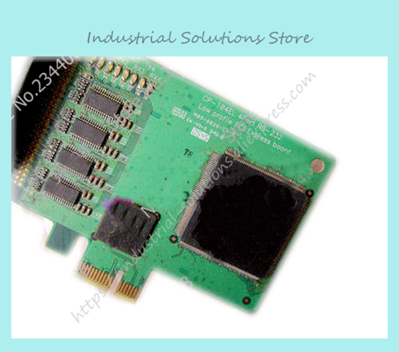Original CP-104EL-A RS232 PCI Express smart card 100% tested perfect quality fm belkin tunecast auto universal f8z439ea