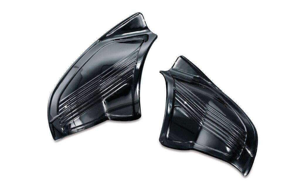 XYIVYG Gloss Black Inner Fairing Covers for Harley Batwing FLHX FLHT paradigm cinema trio gloss black