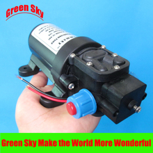 130PSI 5.5l/min 24v 80w automatic pressure switch type with cooling fan dc diaphragm pump