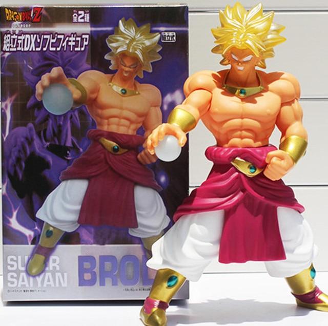 Dragon Ball Z Broli Action Figure 1 8 Scale Painted Soft Vinyl Super Saiyan